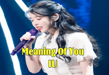 [Vietsub] Meaning Of You - IU Tại 'Dlwlrma' Concert
